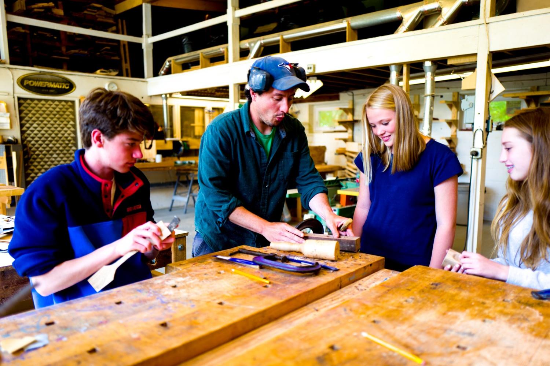 shelburne craft school — kids wood working, project tbd